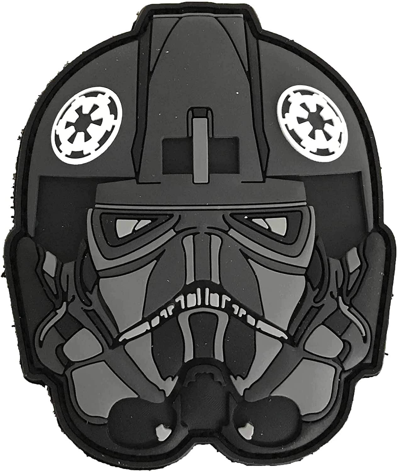 Star Wars Imperial Pilot Patch en PVC pour Casque