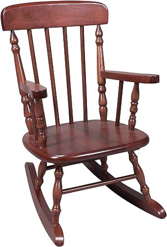 Gift Mark Children's Spindle Rocking Chair