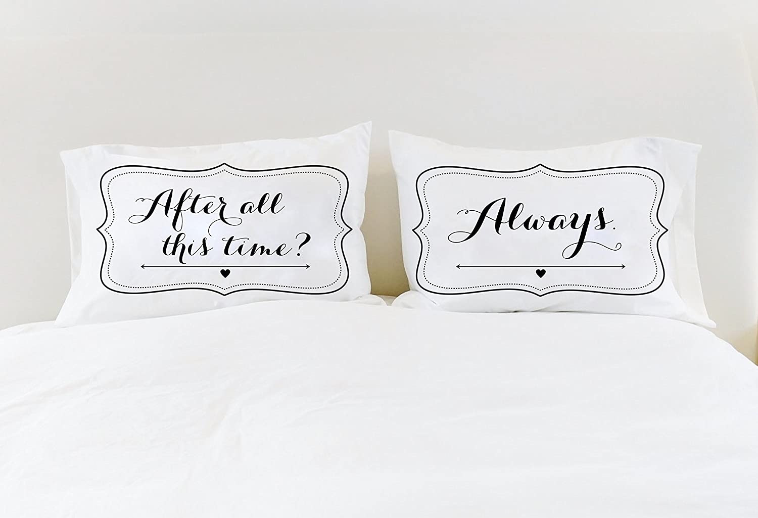 Cool Couple Pillowcases After All this