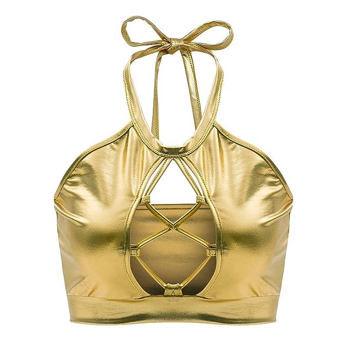 Mibuy Mujeres Camiseta 2020 Moda Glitter Lentejuelas Camiseta ...