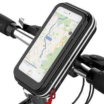 Lovicool Fahrrad Handyhalterung Handyhalter Fahrrad Tasche Rahmentasche Fahrrad Lenkertasche Wasserdicht Stoßfest Für 35 62 Zoll Sensitive