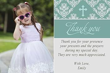 30 tarjetas de agradecimiento, notas tarjeta de foto personalizada ...