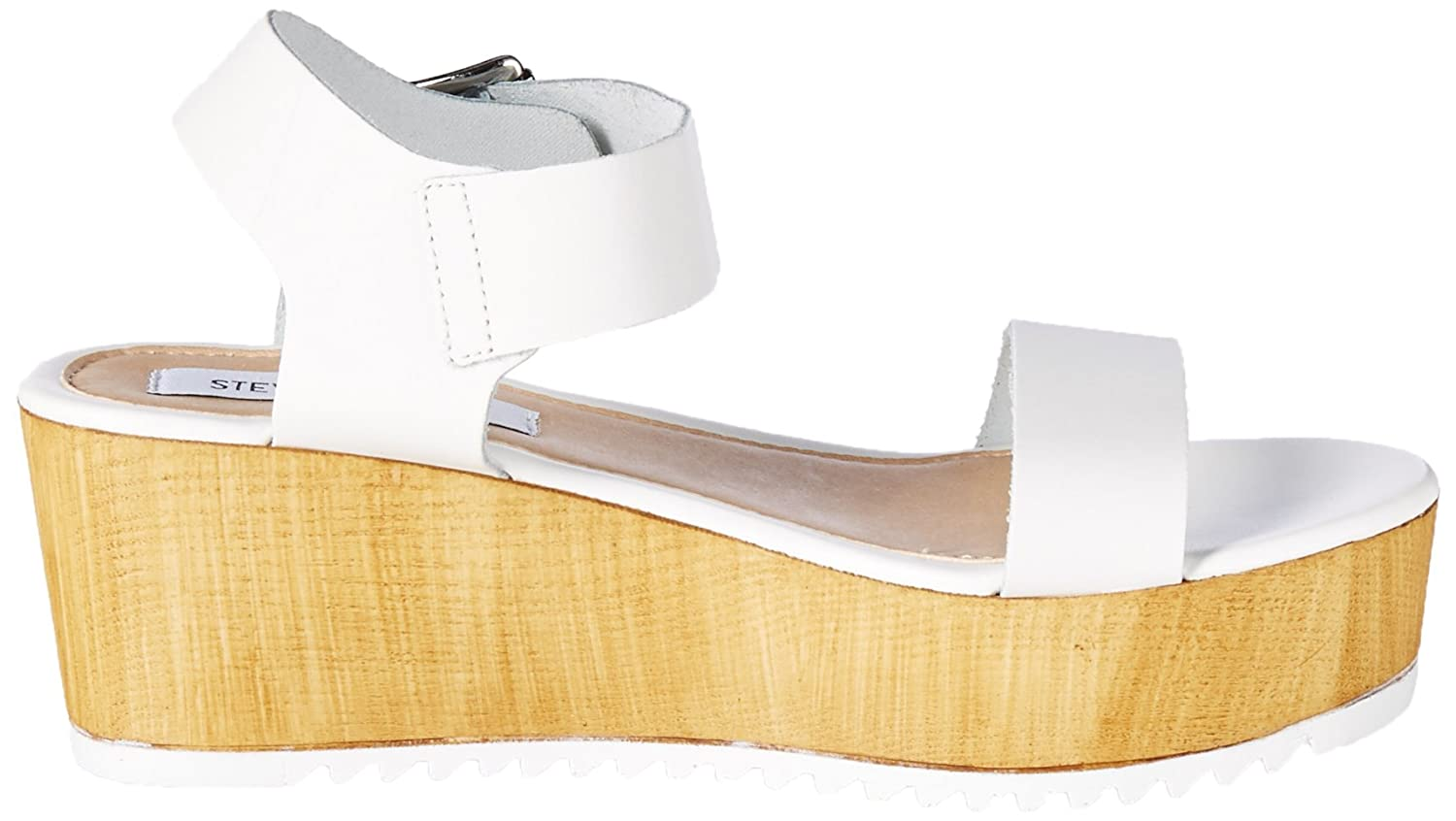 923f71fb6360 Steve Madden Women s Nylee Block Wedge Shoes  Amazon.co.uk  Shoes   Bags