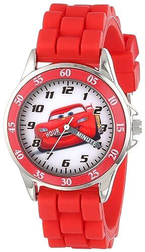 Disney Reloj Para Ninos Cz1009 Time Teacher Cars Personaje