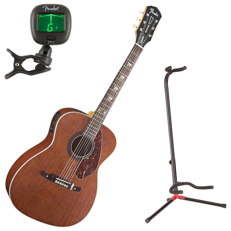 Fender 0971752022 Tim Armstrong Hellcat guitarra acústica w/stand ...
