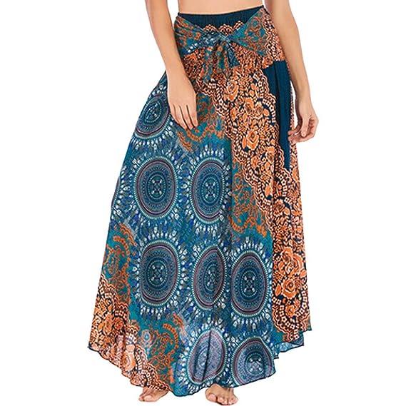 Gusspower Faldas Largas Y Elegantes Multifuncional Mujer Verano ...