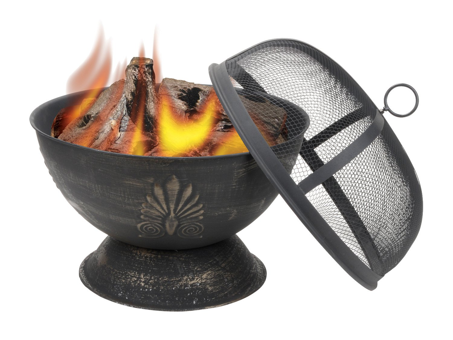 amazon com deckmate acanthus outdoor fire bowl model 30042