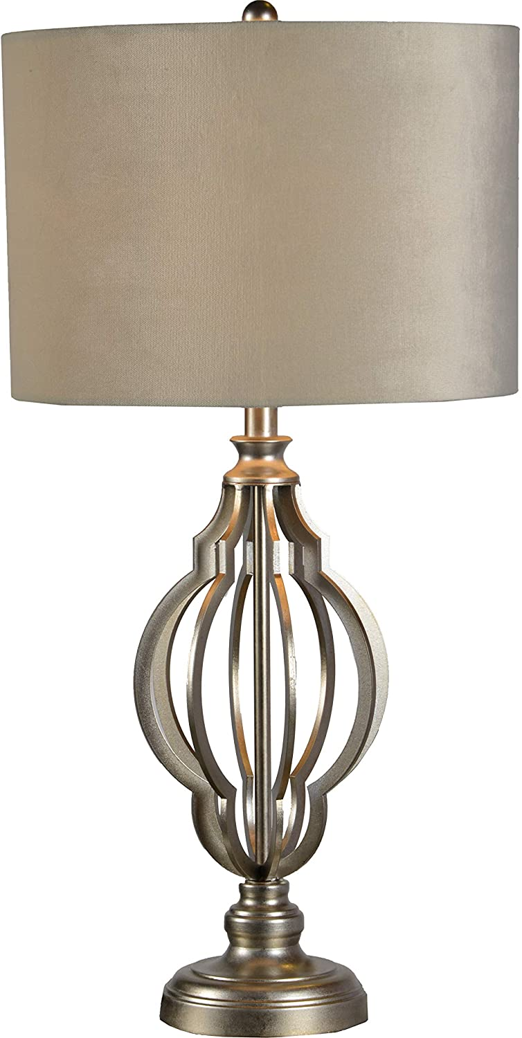 Ren-Wil 201803188 Andals Table Lamp Medium Champagne Silver Leaf
