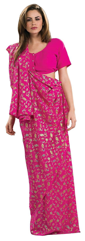 sc 1 st  Amazon.com & Amazon.com: Rubieu0027s Costume Pink Sari Costume Standard: Toys u0026 Games