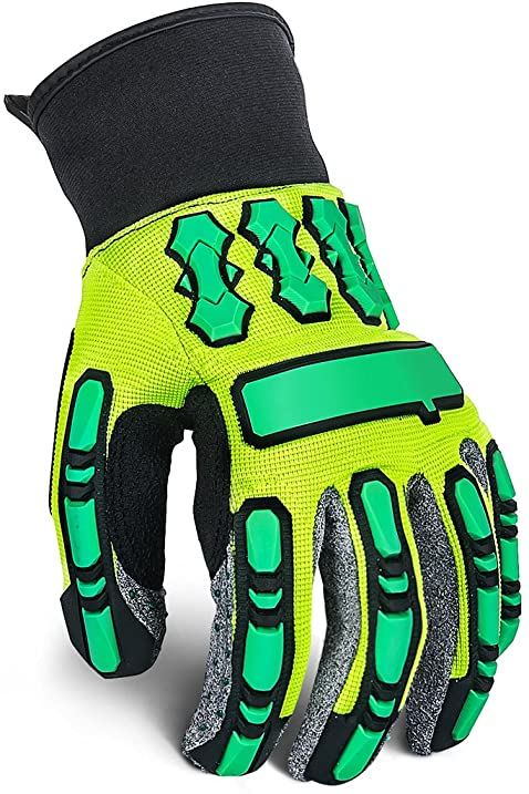 Our Best Selling Impact Glove Heavy Duty Mechanic Work Gloves With
