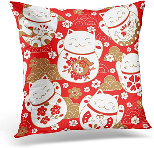 Home Dcor Home Decorative Cushion Cover Pillow Case Japanese ...