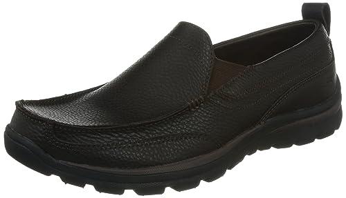 Skechers Superior Gains Zapatos para hombre de cuero - chocolate-BROWN-41.5 4buegNC