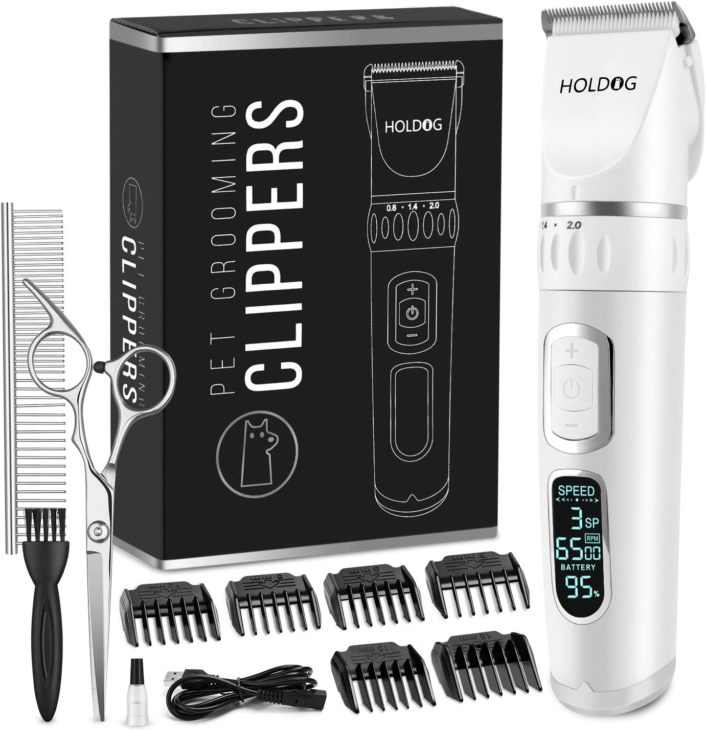 List price Dog Clippers Professional Heavy 3-Spee Duty Clipper Grooming Max 58% OFF