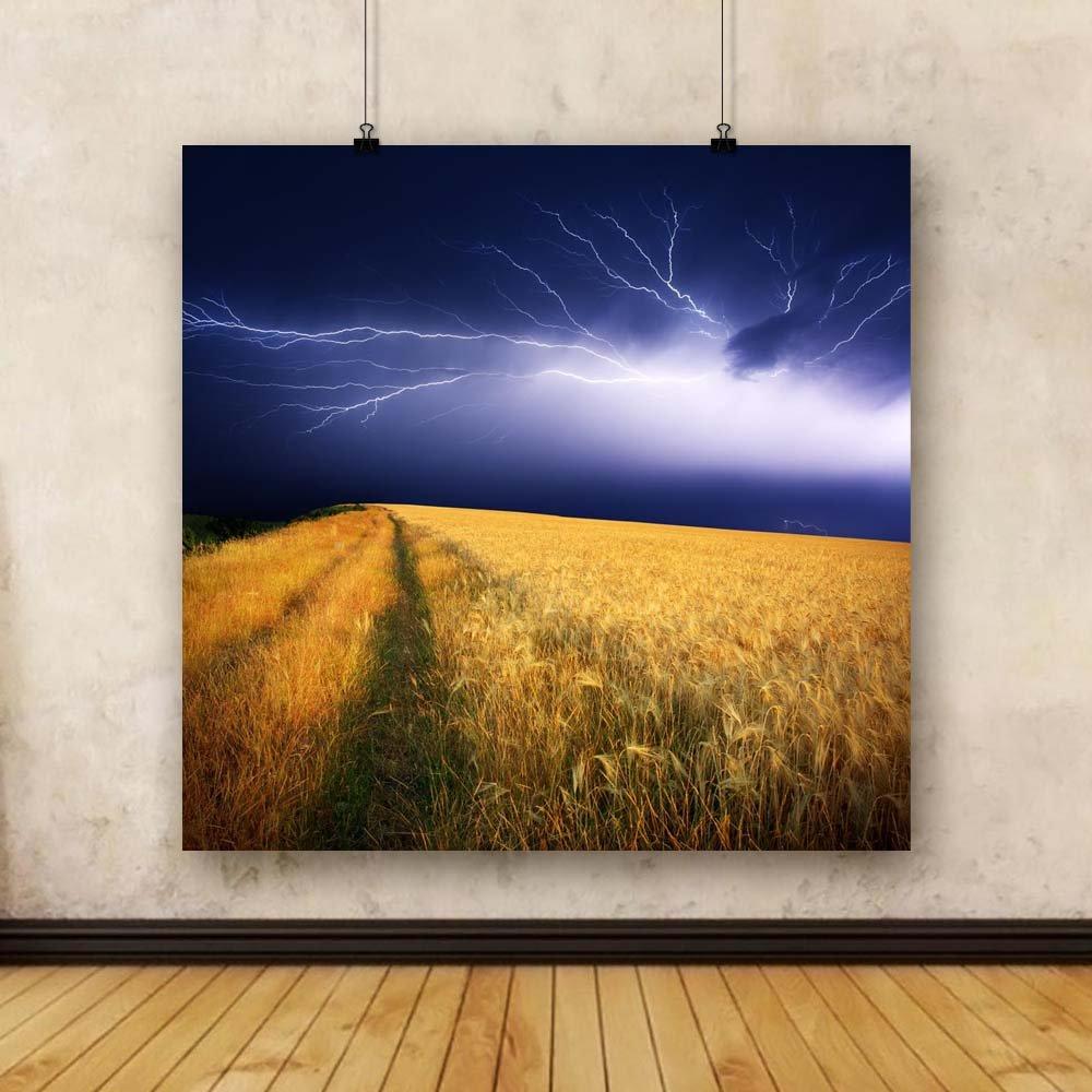 Pitaara x Box Summer Storm Unframed Canvas Painting 38.9 x Pitaara 37.7inch f17f31