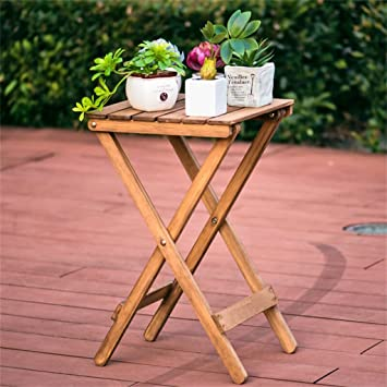 Amazon.com : AIDELAI Simple Solid wood Flower racks living room ...