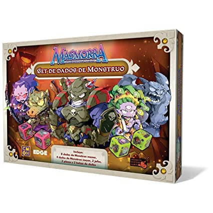 Dungeon of Arcadia – Monster Dice Set (Edge Entertainment edgmmr003)