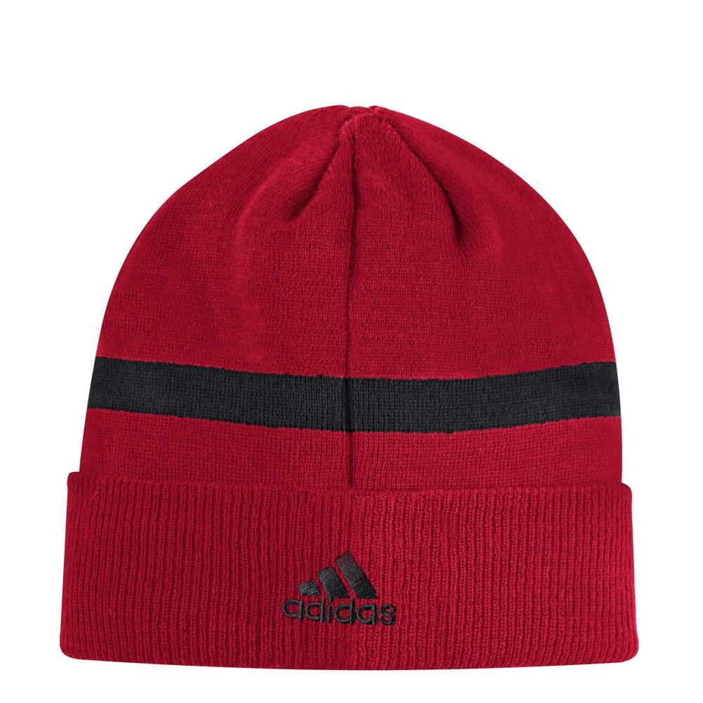 ab9d0a621a0 Amazon.com   adidas NCSU NC State Wolfpack Cuffed Beanie Coach Sideline Knit    Sports   Outdoors