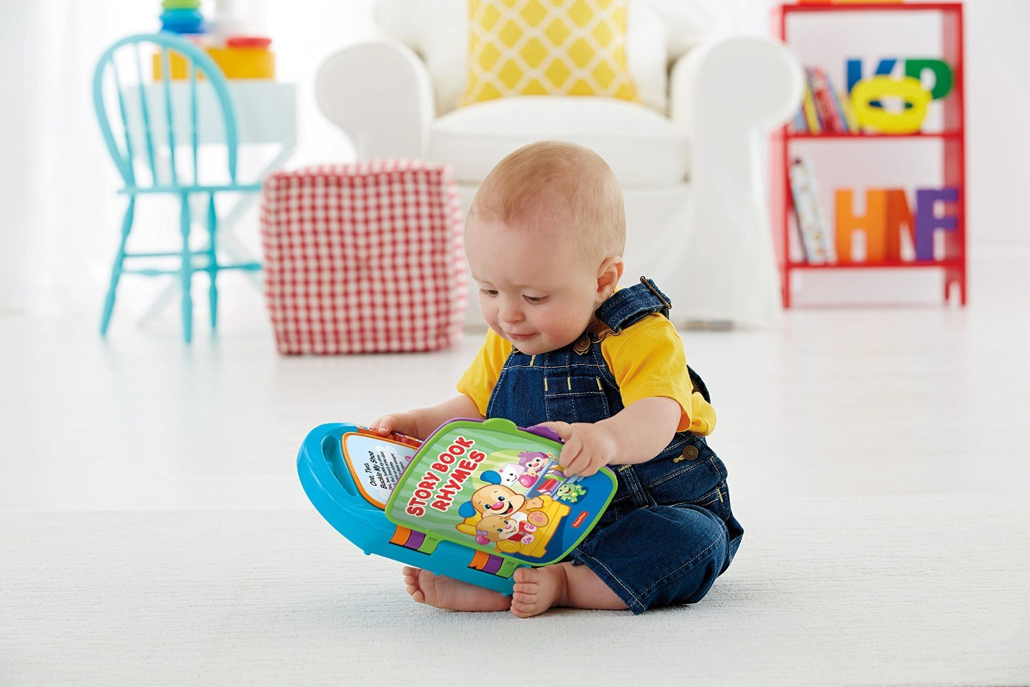 Fisher-Price Laugh & Learn Storybook Rhymes Book by Fisher-Price (Image #4)
