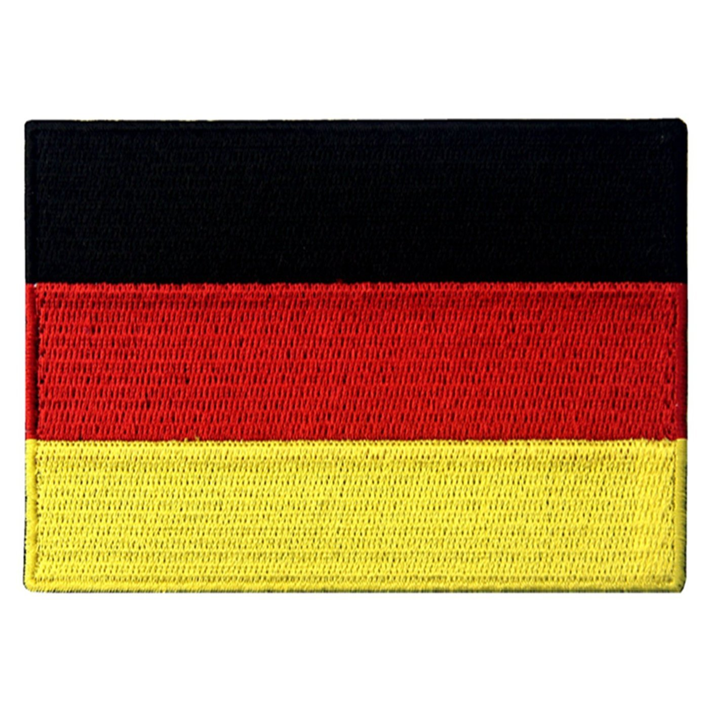 EmbTao Germany Flag Embroidered Emblem German Applique Iron On/Sew On Patch 4337020682