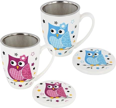 Teetasse Porzellan Teebecher mit Teesieb und Deckel sehe Bild