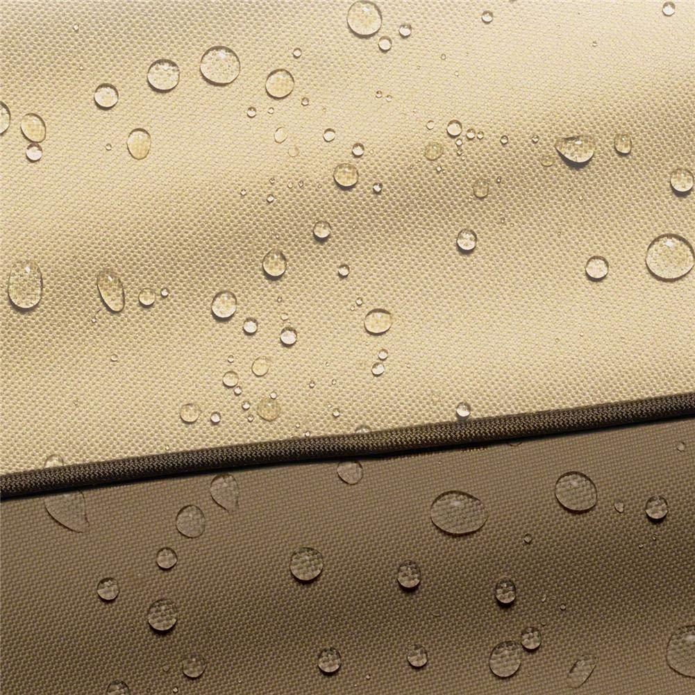 Polvere sporcizia Gelo Resistente allAcqua Mobili da Giardino Esterni Custodia per Cuscino Custodia per Borse Resistente in Tessuto 600D Oxford Custodia Leggera per Proteggere da Pioggia