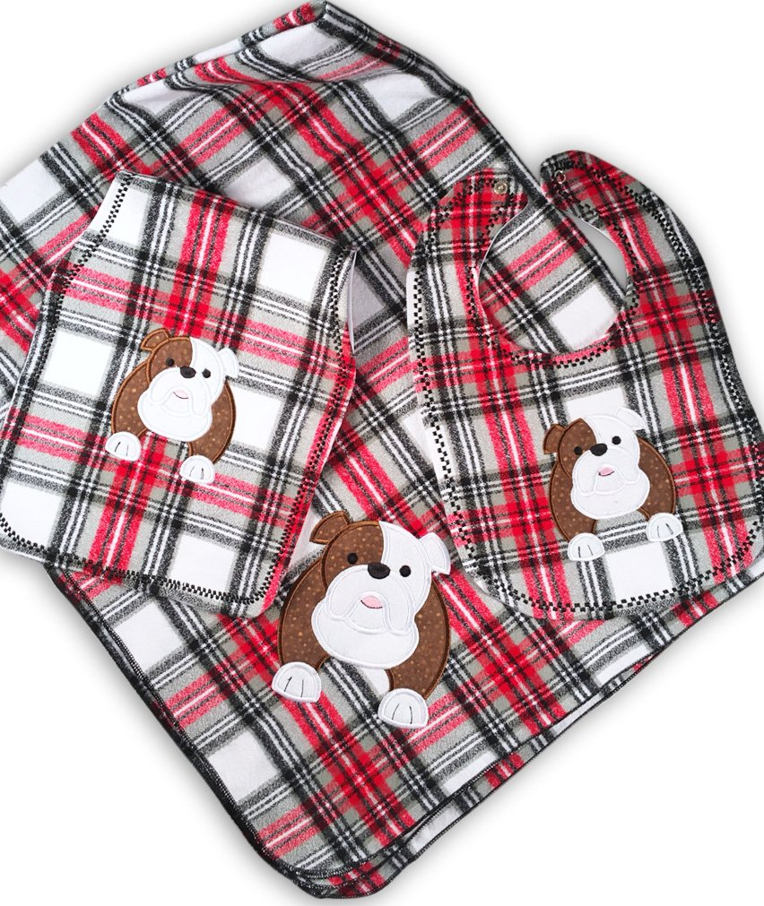Gift For Baby Georgia Bulldogs Nursery Bundle