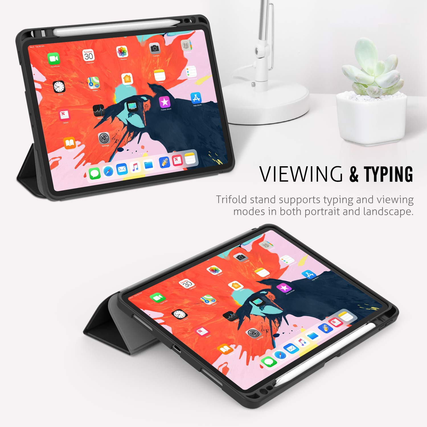 detailed look 7ee8a 7740e Details about MoKo Slim Lightweight Smart Shell Stand Cover Case for Apple  iPad Pro 11 2018