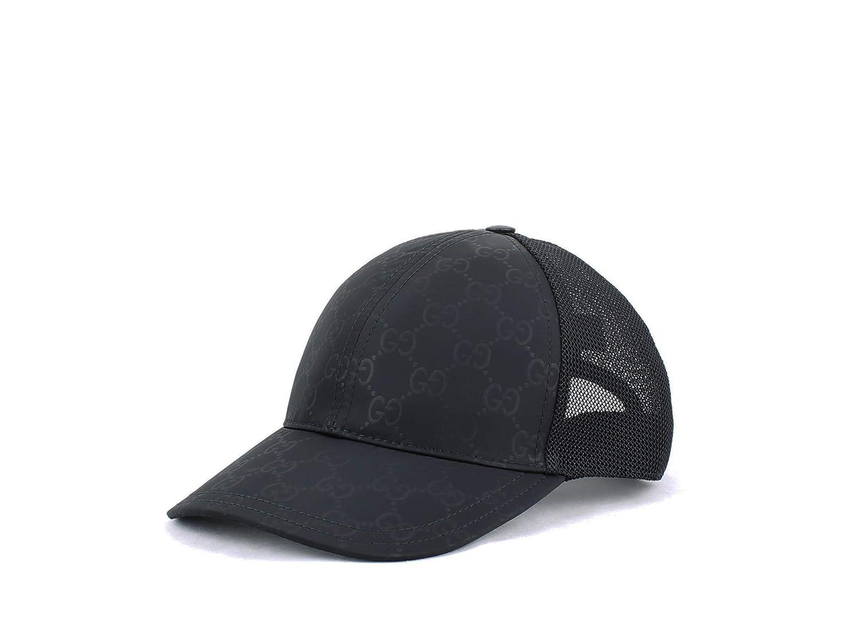 f5fe51d306 Amazon.com  Gucci GG Nylon Coated Baseball Hat