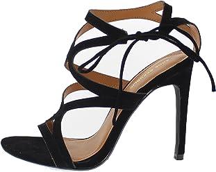 3c8ea87da6a Shoe Republic LA Curvy Cage Straps Open Toe Sandal with Stiletto Heel Karmen