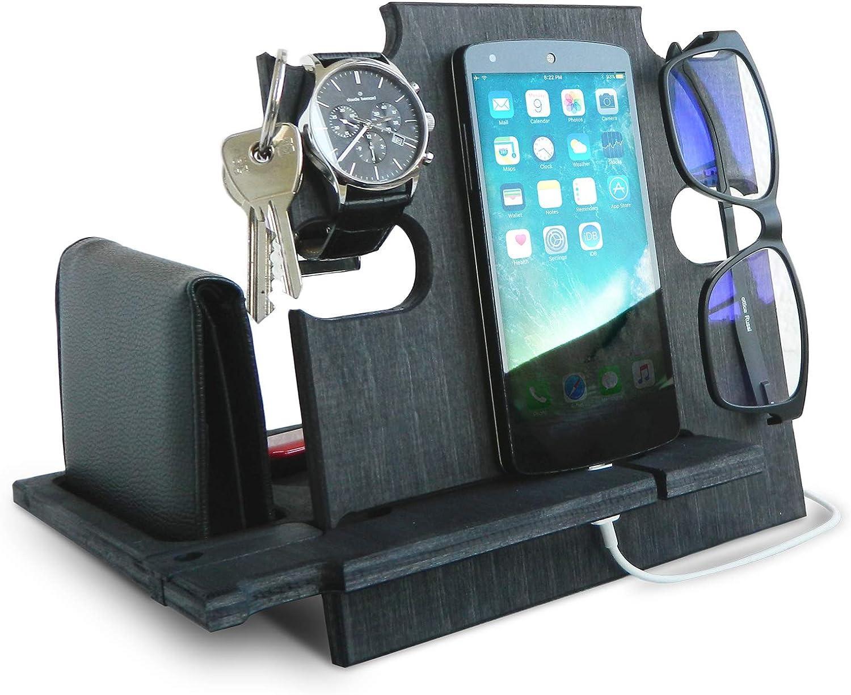 Estación de acoplamiento para iPhone, regalo ideal para cumpleaños, customizable