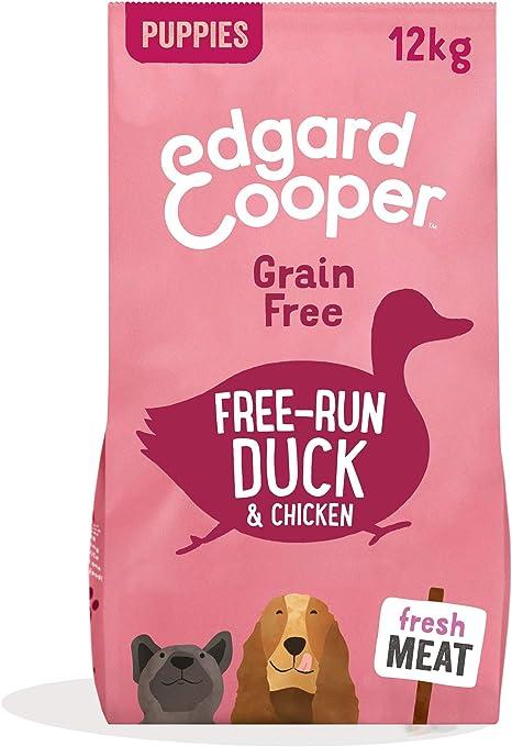Edgard & Cooper pienso para perros adultos sin cereales, natural con Pollo fresco de granja, 12kg. Comida premium balanceada sin harinas de carne ni ...