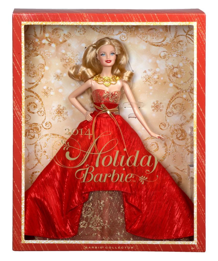 Barbie collector 2014 holiday doll toys games - Barbie de noel 2012 ...