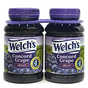 Welchs Concord Grape Jelly, 30 Ounce (Pack of 3)