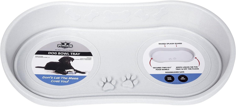 Non Skid Pet Bowl Tray Grey Grey Original