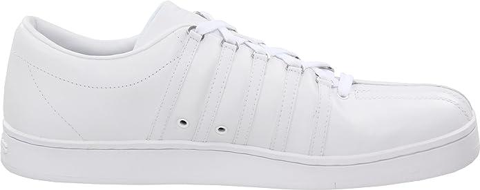 KSwiss Classic 92160305 Zapatillas Blanco de cuero para hombre Blanco Zapatillas 415 8e3a84