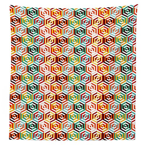 Amazon Com Vipsung Geometric Tablecloth Abstract