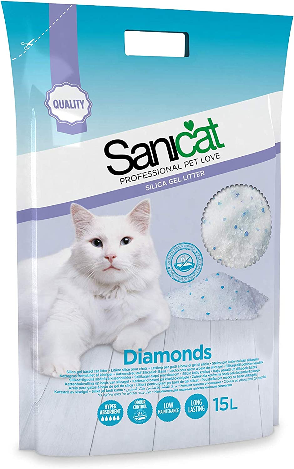 Sanicat Diamonds 15L