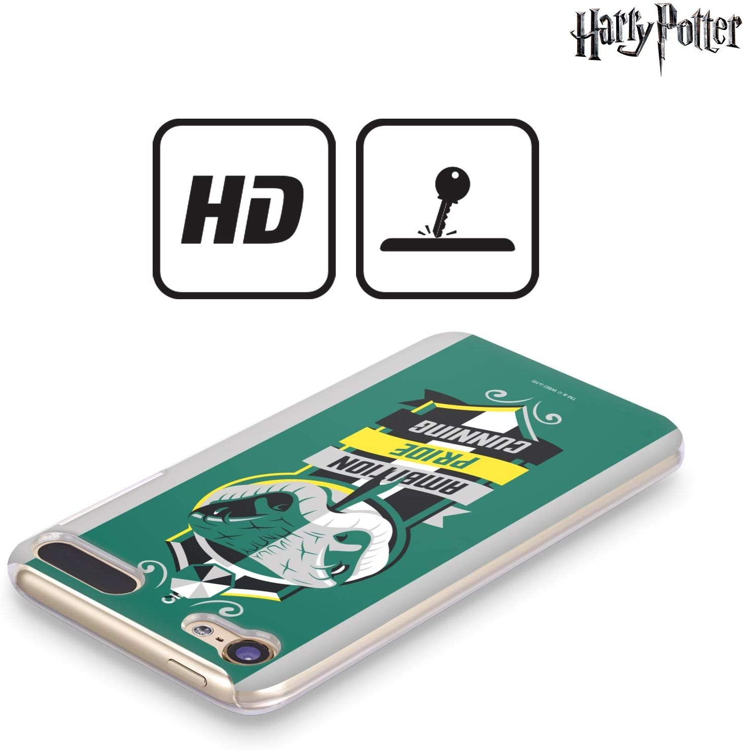Head Case Designs Oficial Harry Potter Slytherin Deathly Hallows Vi Carcasa r/ígida Compatible con iPod Touch 5G 5th Gen