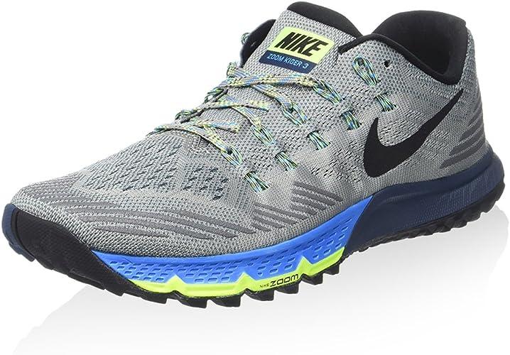 Nike Air Zoom Terra Kiger 3, Zapatillas de Running para Hombre, Gris (Gris (Shark/Black-Squadron Blue-Blue Glow), 40 EU: Amazon.es: Zapatos y complementos