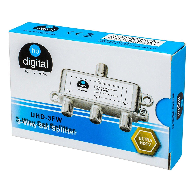 Distribuidor Amplificador de se/ñal/ /Antena de Juego de HB Digital F macho