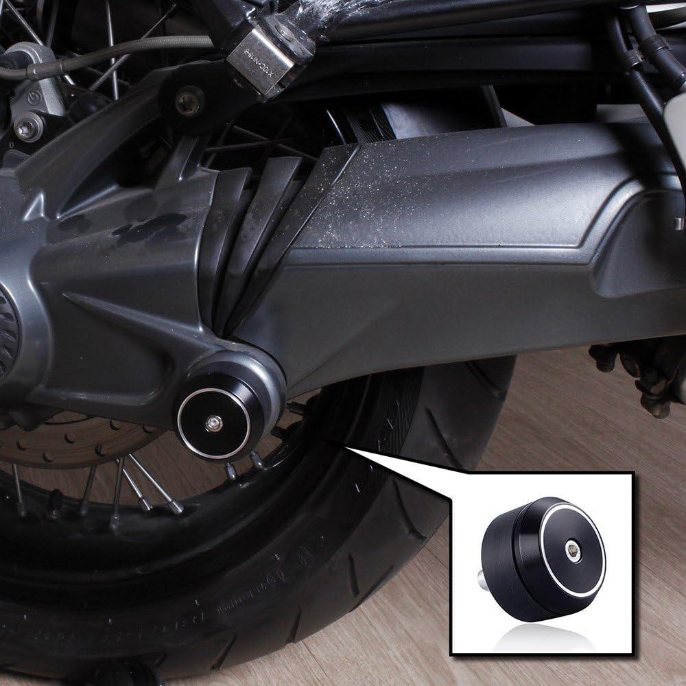Rear Axle Slider Fork Protectors For BMW R1200GS Adventure,R Nine T,R1200 R1250