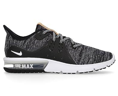 b002639aec Nike Women's Air Max Sequent 3 Shoe Black/White/Dark Grey: Amazon ...