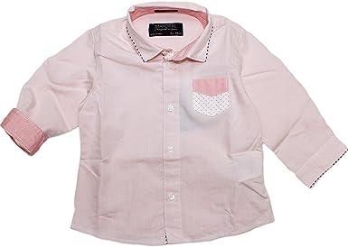 Mayoral - Camisa - para bebé niño Rosa 12/80 EU: Amazon.es: Ropa y accesorios