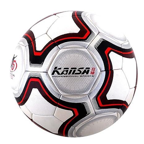 Kansa nueva llegada tamaño 5 PU balón de fútbol oficial ...