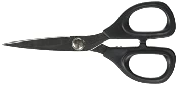 Kai 5135 Black 5 1/2 inch Embroidery Scissors