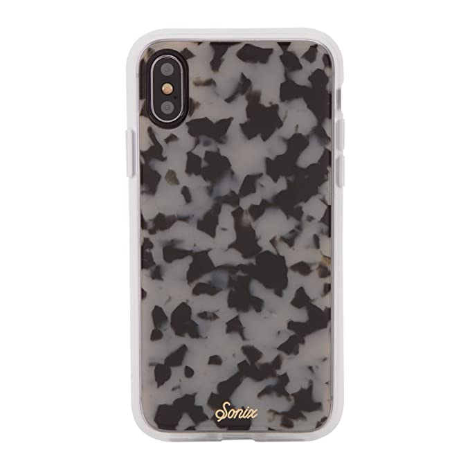 "quality design 2e7df 5275c iPhone Xs, iPhone X, Sonix Milk Tortoise Cell Phone Case [Military Drop  Test Certified] SONIX Luxe Tort Shell Case for Apple (5.8"") iPhone X,  iPhone ..."