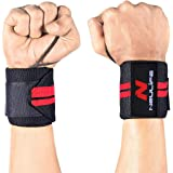 Neulife Weight Lifting Wrist Wrap (Pair) Thum Support/Wrist Support