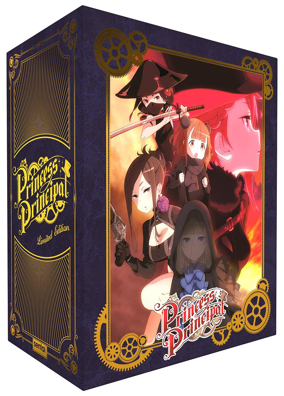Princess Principal   Premium Edition Box Set Blu-ray (Dual Audio)