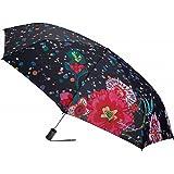 Desigual Umbrella Splatter Negro