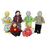 Hape HAP-E3500 Happy Family-Caucasian
